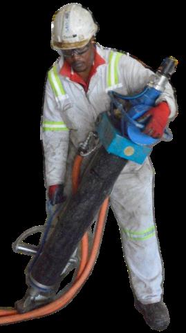 Refurbished Gopher being handled